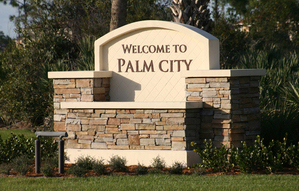 Palm City Entrance
